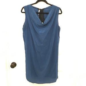 Geren Ford Silk Tie-Back Dress